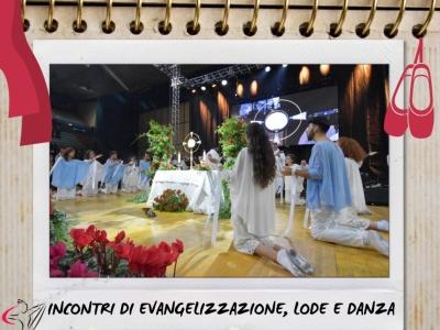 DANZA, LODE, EVANGELIZZAZIONE